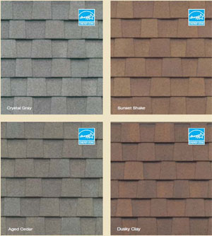 CertainTeed Asphault Shingle Samples CertainTeed