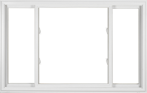 3-Lite Double Vinyl Slider Window